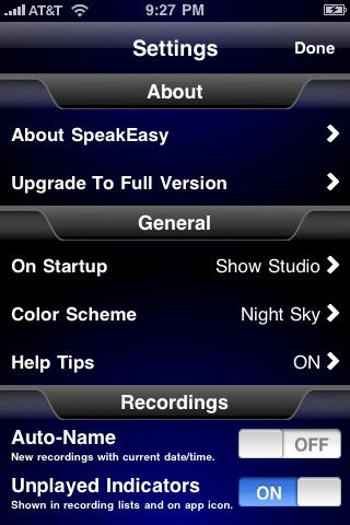 SpeakEasy Voice Recorder Lite screenshot-4