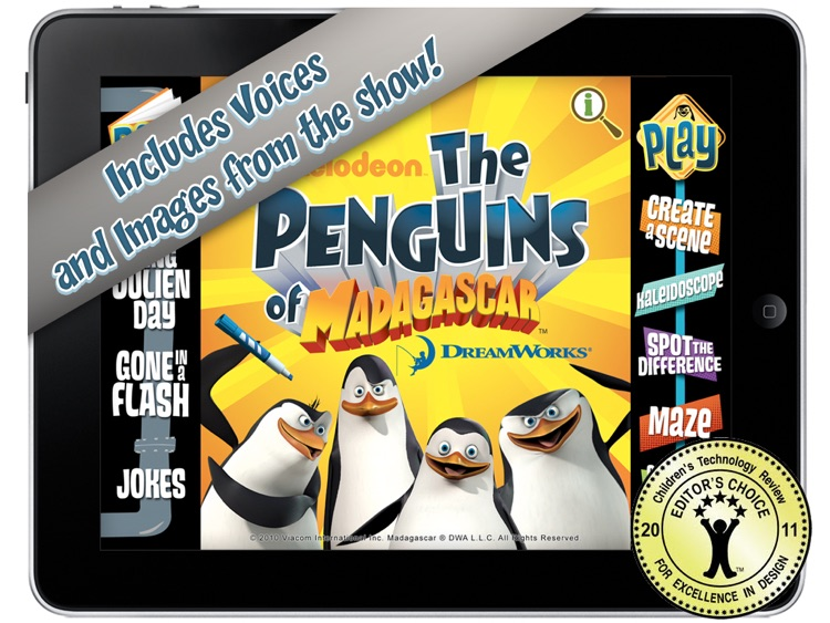 The Penguins of Madagascar: Read & Play screenshot-0