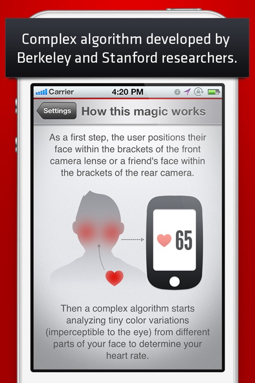 Cardio Buddy - Touchless Camera Heart Rate Monitor by Azumio screenshot-3