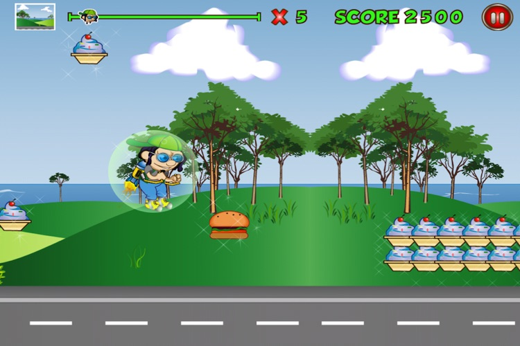 Extreme Kid Race Lite screenshot-4