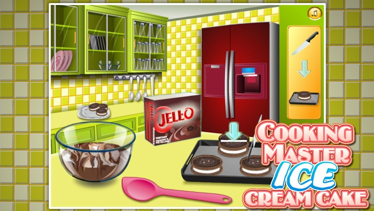 Cooking Master:Ice Cream Cake