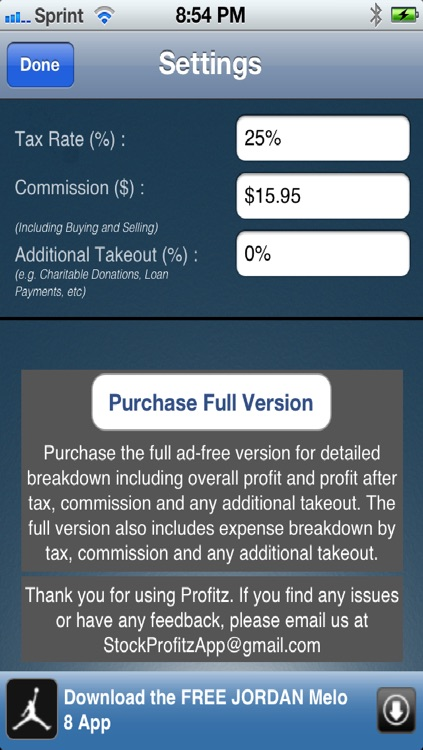 Profitz Lite screenshot-1