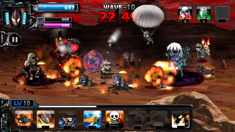 ARMY VS ZOMBIE screenshot-1