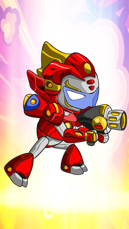 A Future Kid Robot Run & Gun Fight Game By Running Free & Fighting Games For Teen Boys And Kids Pro