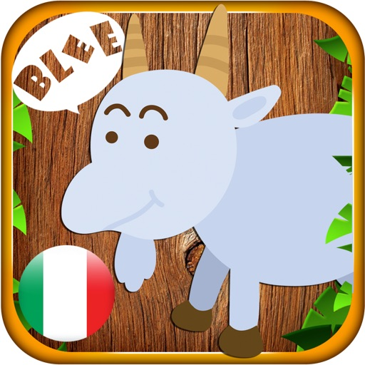 Animale Bambino In Italiano - Kid learns animal sound and name in Italian iOS App