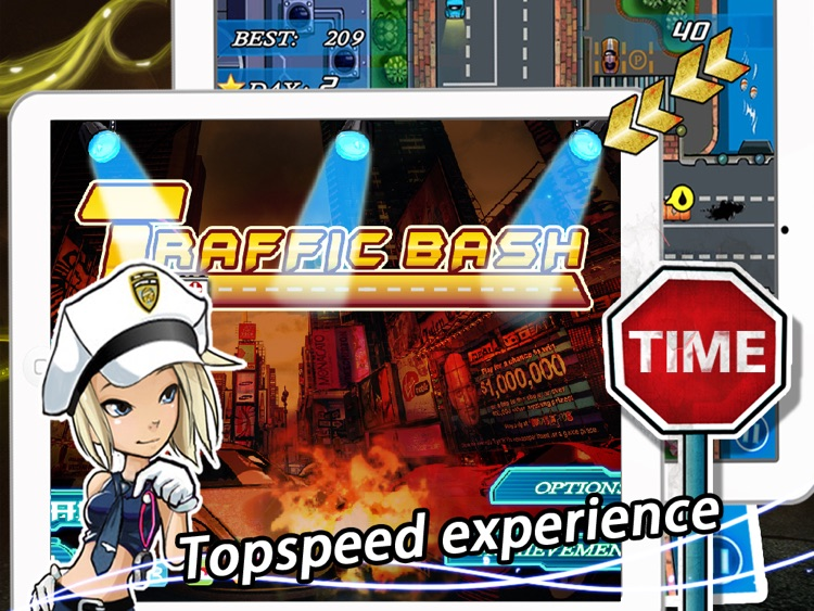 Traffic Bash HD screenshot-4