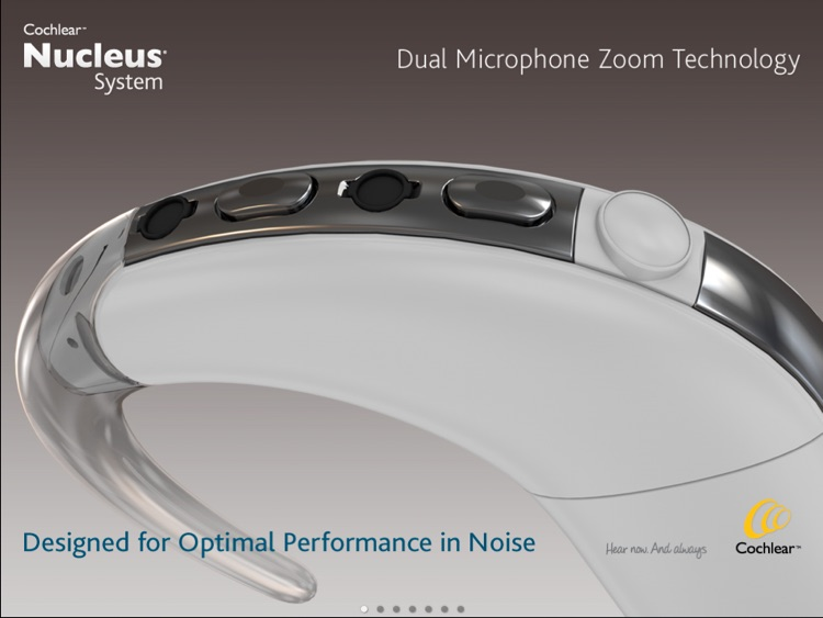 Dual Mic Zoom Technology from Cochlear