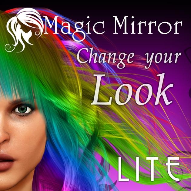 Sensational Hairstyle Magic Mirror Change Your Look Lite On The App Store Short Hairstyles Gunalazisus