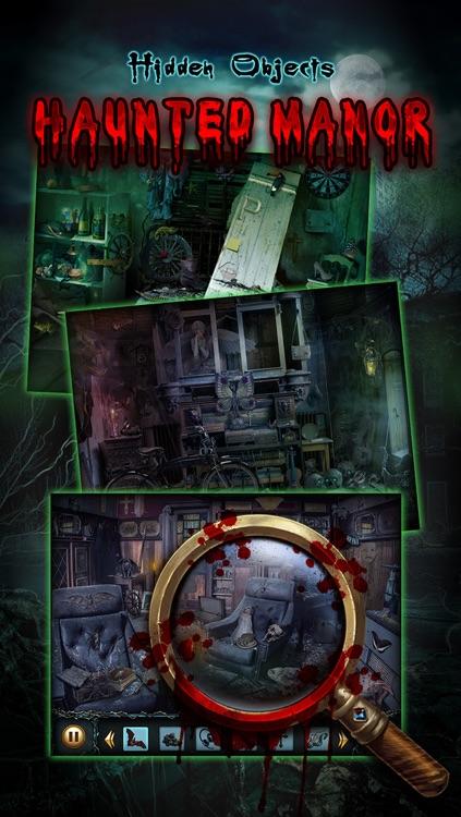 Haunted Manor - Hidden Object Adventure screenshot-3