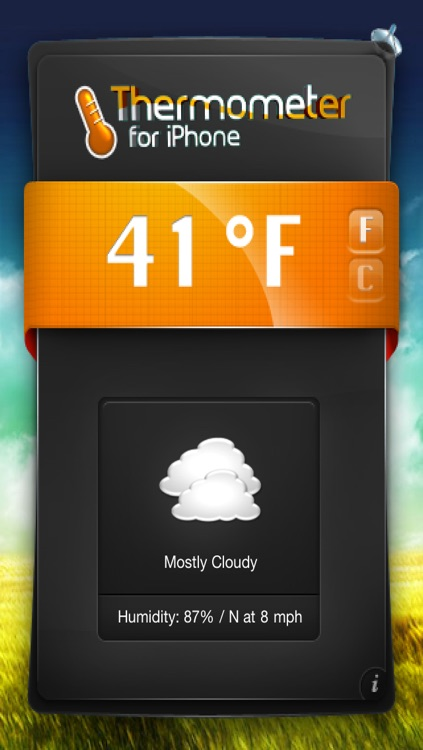 Thermometer/Weather for iPhone & iTouch