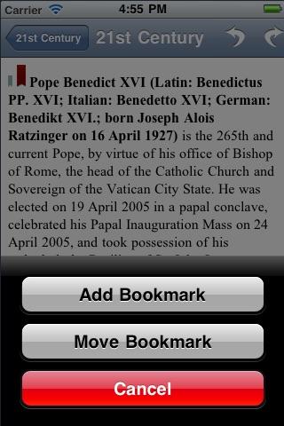 Popes of the Catholic Church ✟ Saint Peter to Pope Benedict XVI