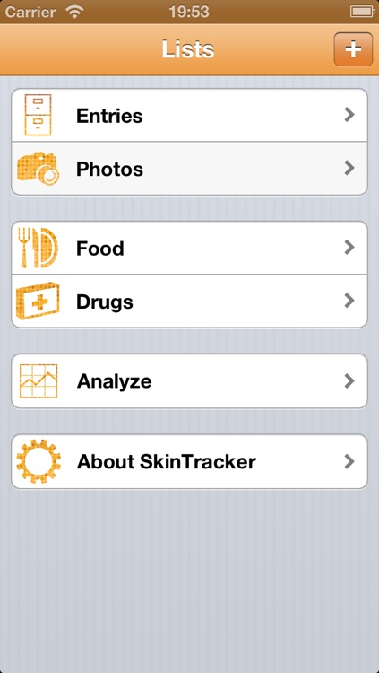 Skin Tracker screenshot-1