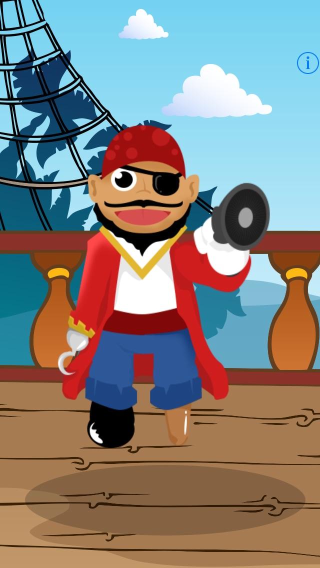 Sprechender Pirat - Talking Pirate: Spiel für Kinder, Eltern, Freunde und Familie mit Piraten!Screenshot von 3