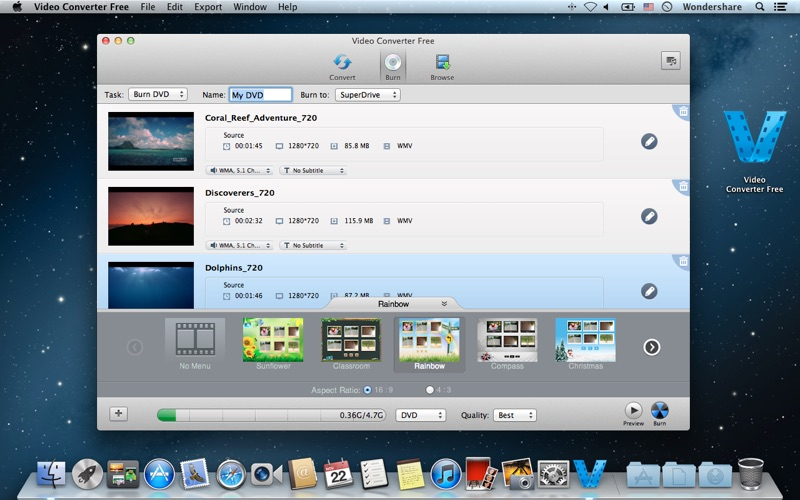 Video Converter Free Screenshot