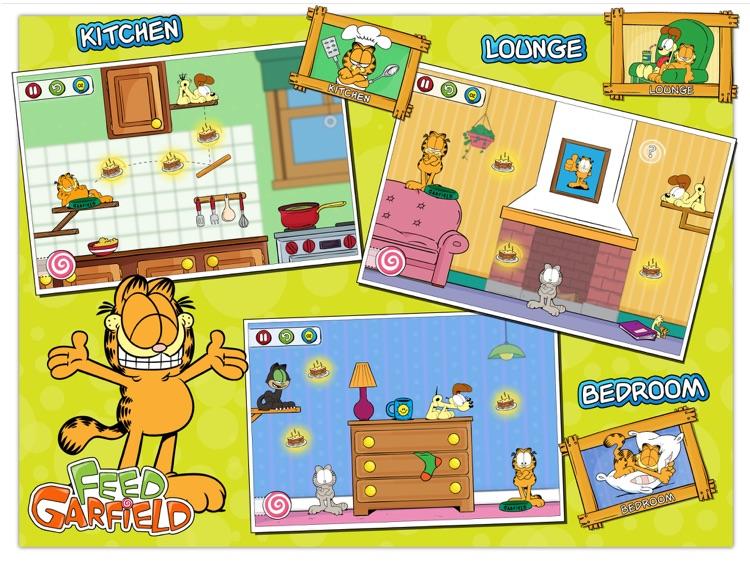 Füttere Garfield HD