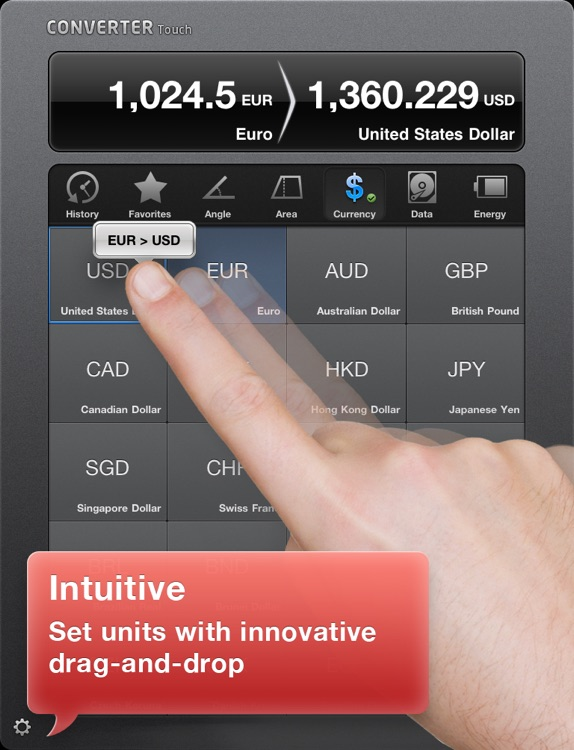 Converter Touch HD ~ Fastest Unit Converter screenshot-0