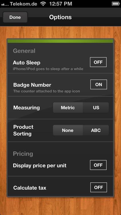 Shopping List (Grocery List) screenshot-4