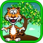 diversão jardim zoológico Animais Jogo História -Um correspondente quebra-cabeças jogo icon