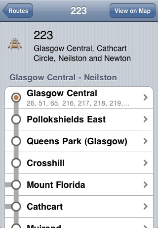 UK Railway Map screenshot-3