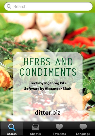 Herbs and Condiments