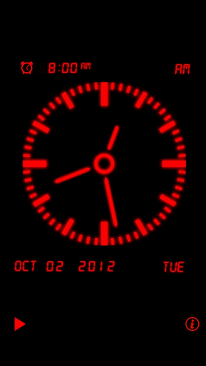 Alarm Night Clock Lite screenshot-3