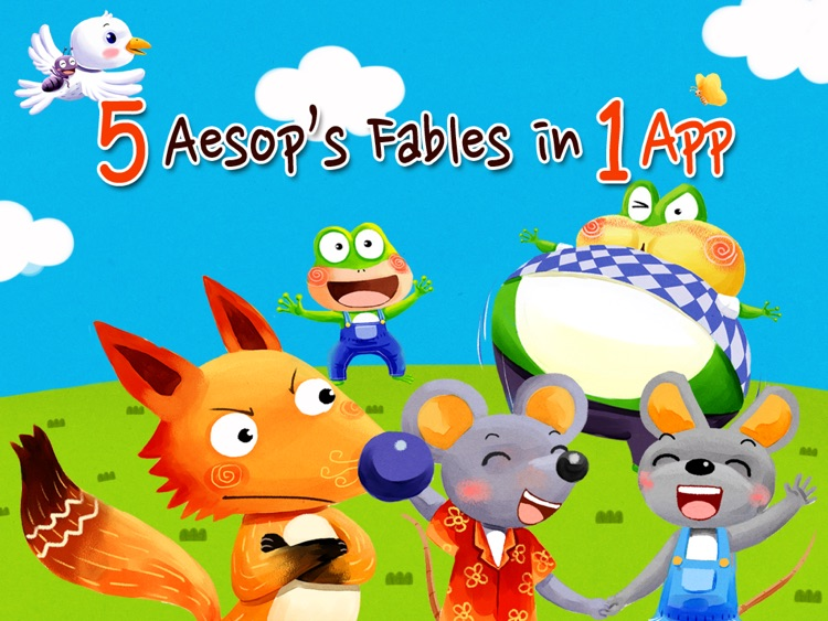 Aesop Fables HD screenshot-3