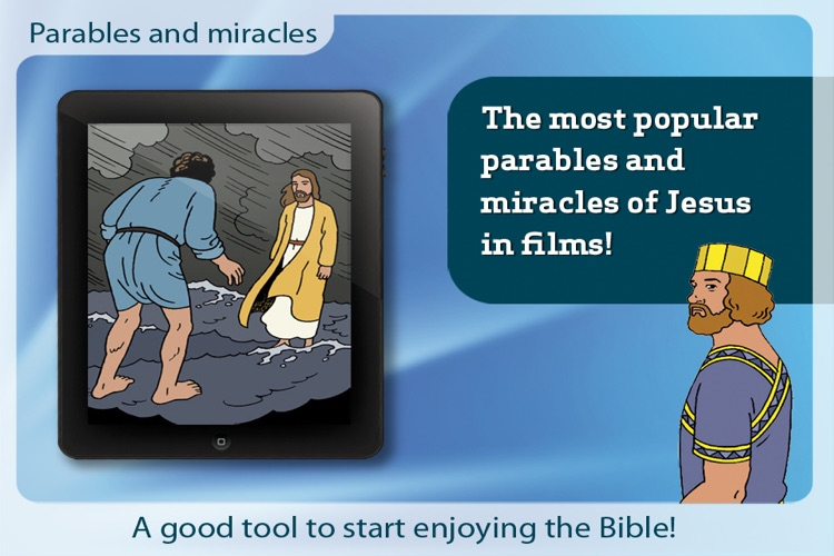 Bible movies - Parables and miracles screenshot-0