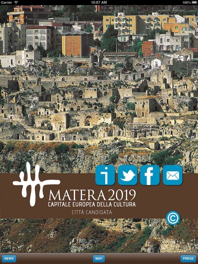 Matera2019 on the App Store