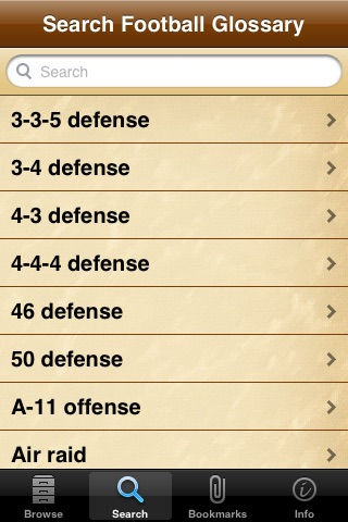 Football Glossary screenshot-1
