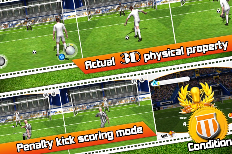 Penalty Soccer 2012 screenshot-2