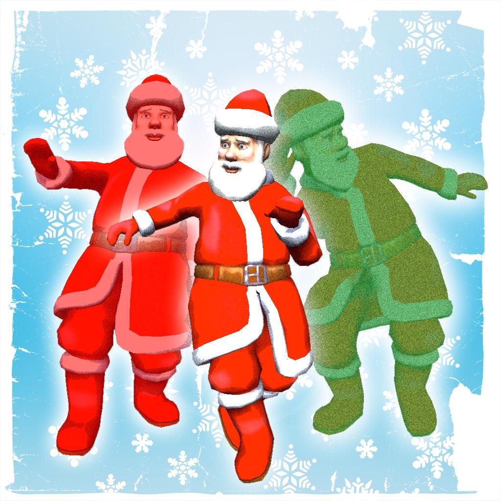 Dancing Santa 3D Pro