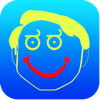 Ritning - allt i ett foto effekter Crazy Cool bildprogram med Emojis och uttryckssymboler