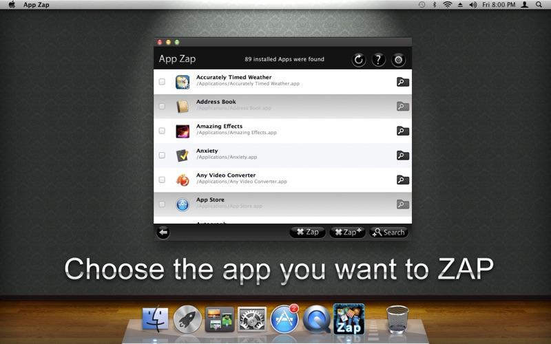 App Zap Screenshot