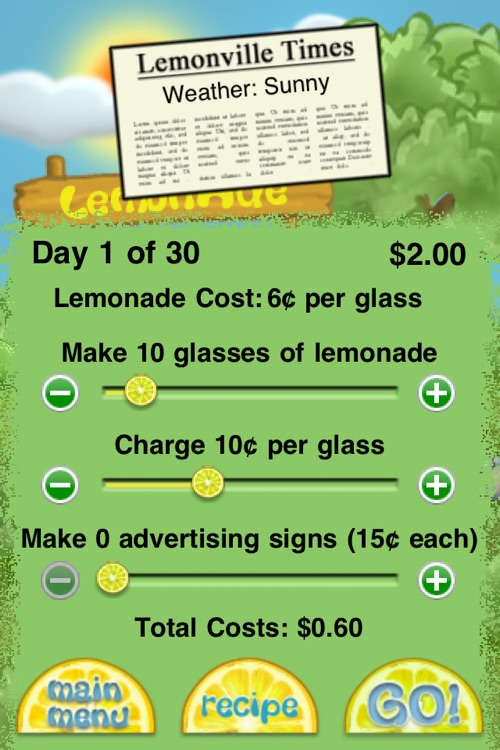 Lemonade Stand screenshot-2