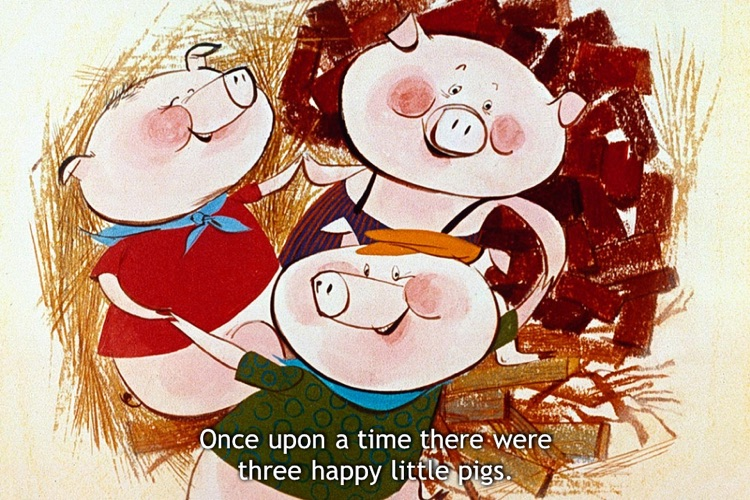iStoryTime Classics Kids Book - The Three Little Pigs