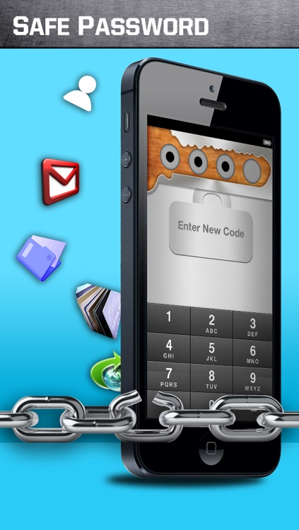 Safe Password free for iPhone