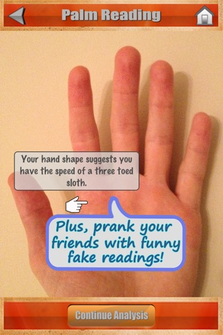 Palm Reading Fortune Free (Like a horoscope for your hand