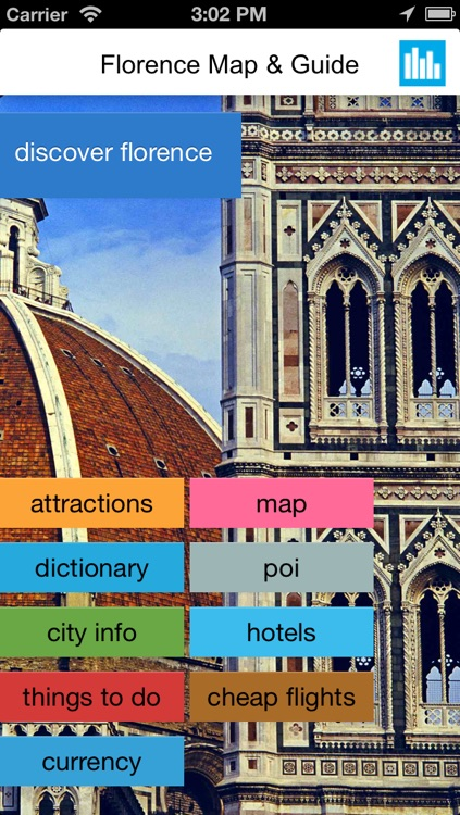 Florence (Italy) offline map, guide & hotels