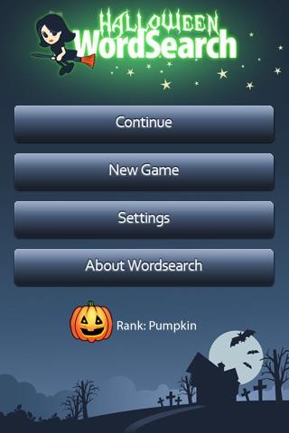 Halloween WordSearch screenshot-4