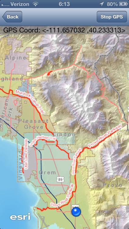 Utah County Trail Guide screenshot-3