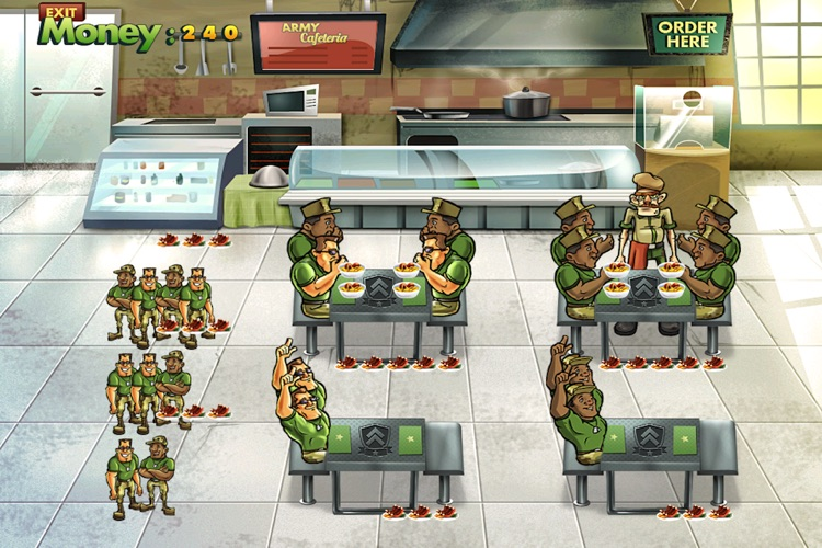 Army Cafeteria Lite screenshot-2