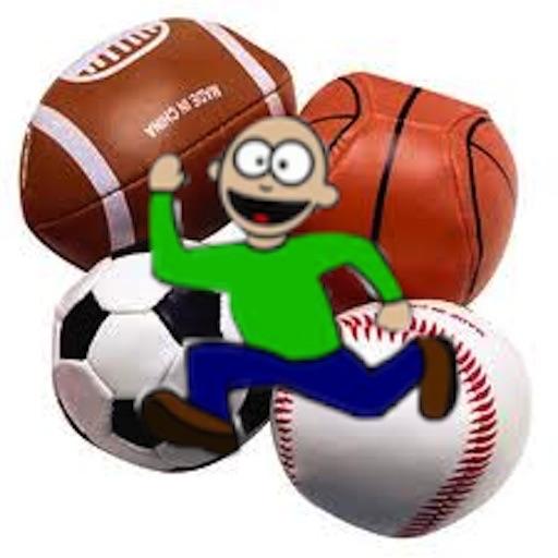 Falling Sport Balls