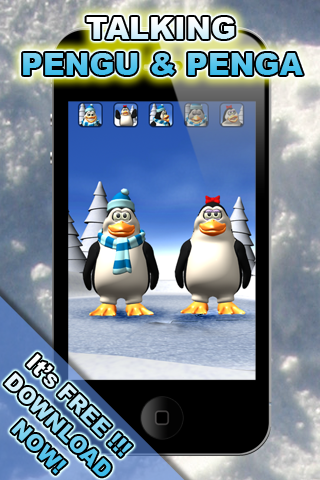 Talking Pengu & Penga Penguinのおすすめ画像1