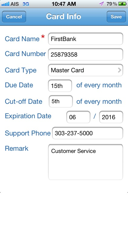 CreditCard Expense screenshot-4