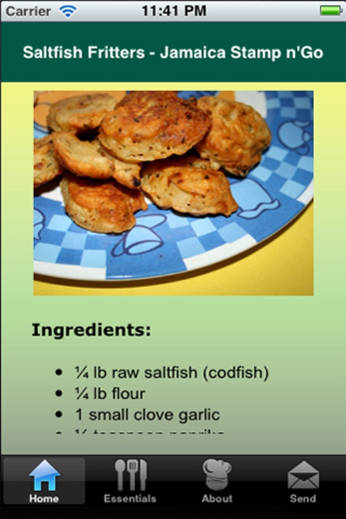 Jamaican Recipes screenshot-2