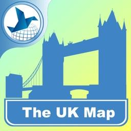 英国地图离线版