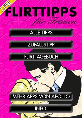 Flirttipps für Frauen – LITEScreenshot von 1
