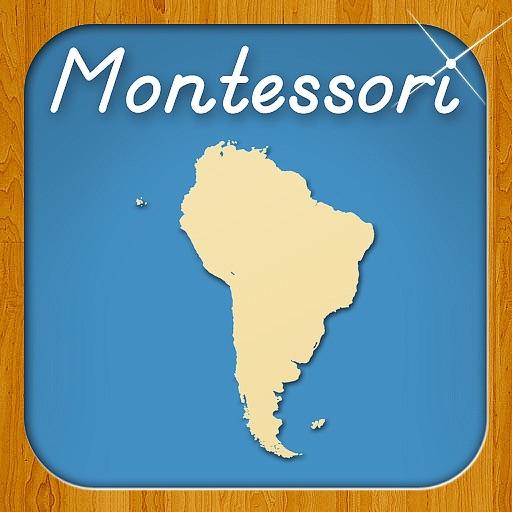 Sur América - Un Enfoque Montessori Hacia La Geografía