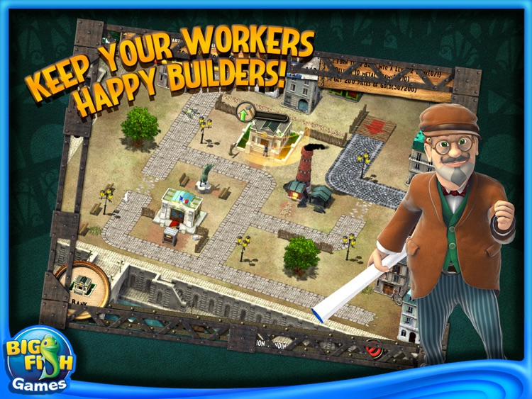 Monument Builders: Eiffel Tower HD (Full) screenshot-2