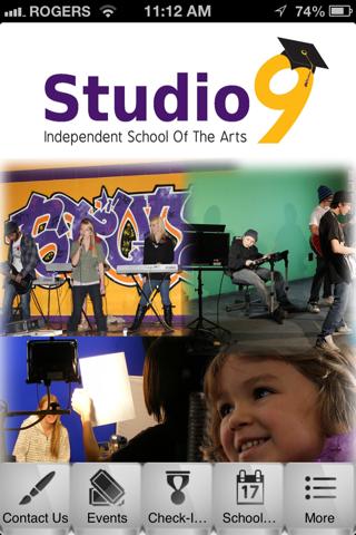 Studio 9 App screenshot one